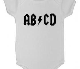 AB-CD Onesie